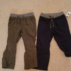 Old Navy pants - 2 pairs- one new with tag- 3T